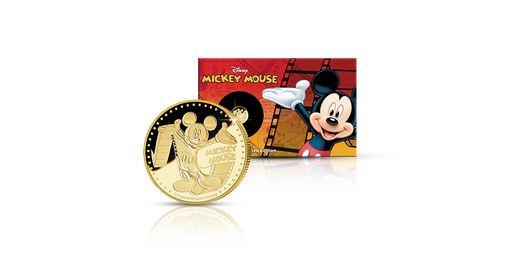 Mikki hiiri -kultaraha