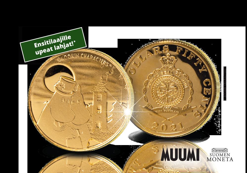 Virallinen Muumitalo-kultaraha
