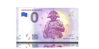 Napoleon Bonaparte 0 € -seteli