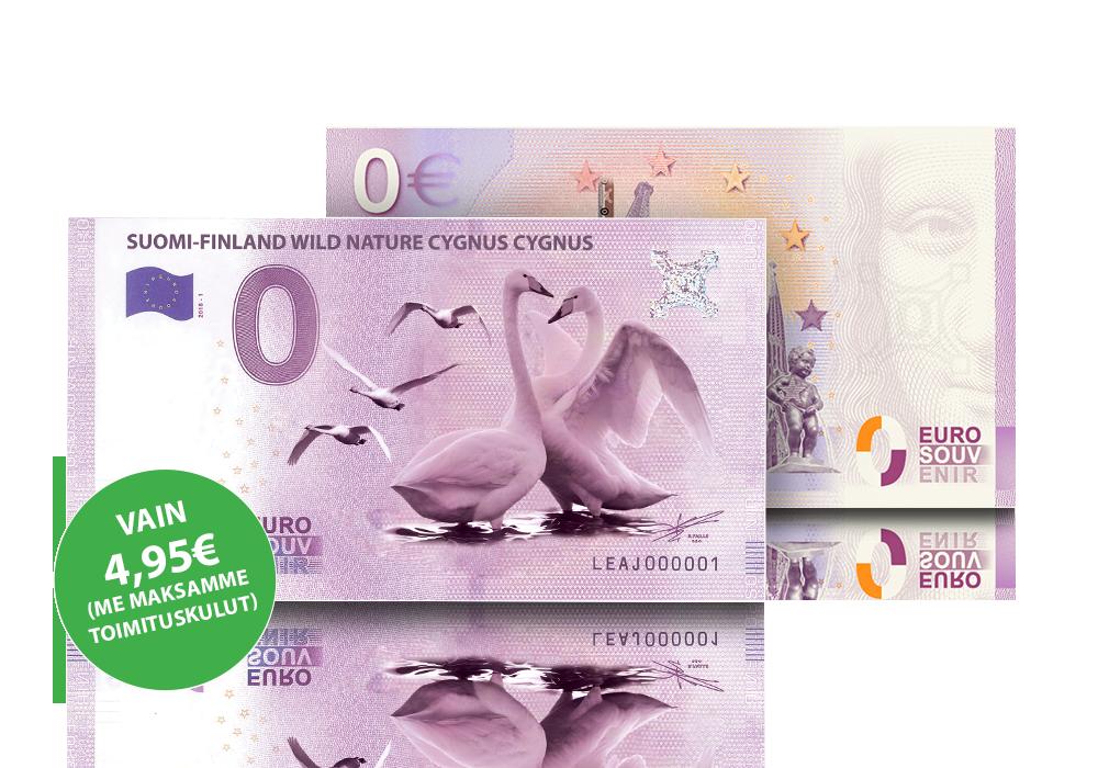 Suomen kansallislintu laulujoutsen vain 4,95 euroa!