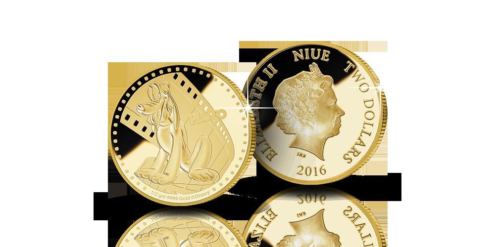 Virallinen Disney Pluto-keräilyraha on 99,99 % kultaa