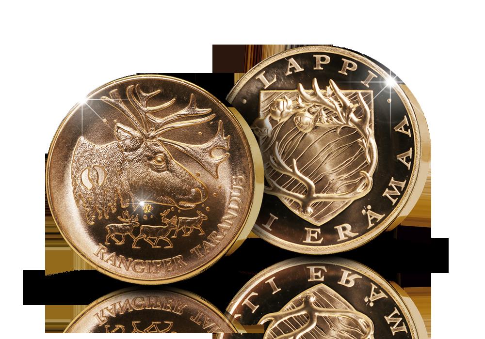 Uljas Poro-mitali aidoilla kultahipuilla