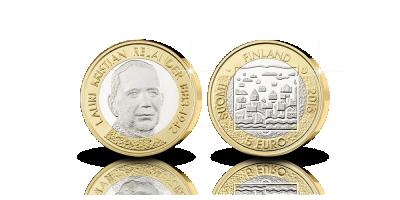 Relander 5€ unc 2016