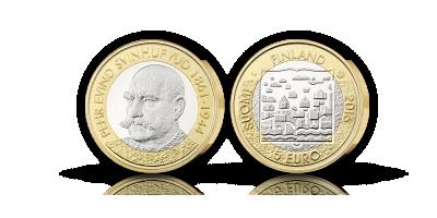 Svinhufvud 5€, unc 2016