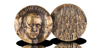 Presidentti-mitali: Mannerheim