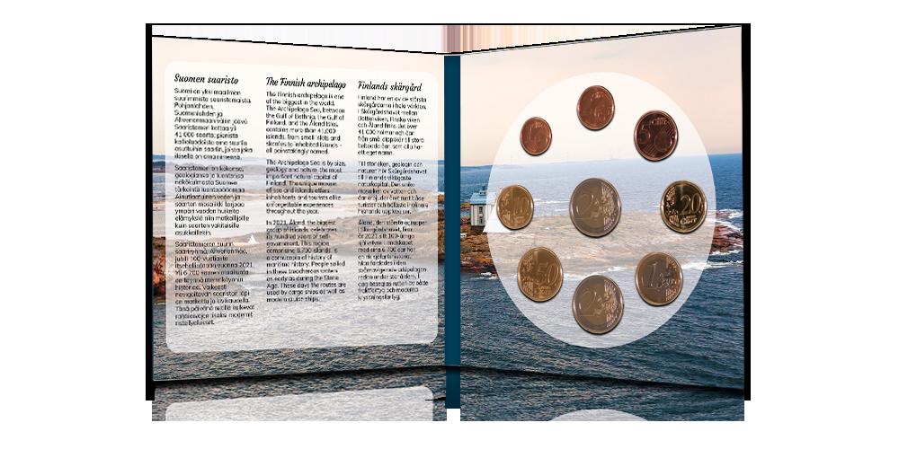Sisältää uusimman suomalaisen kahden euron erikoisrahan