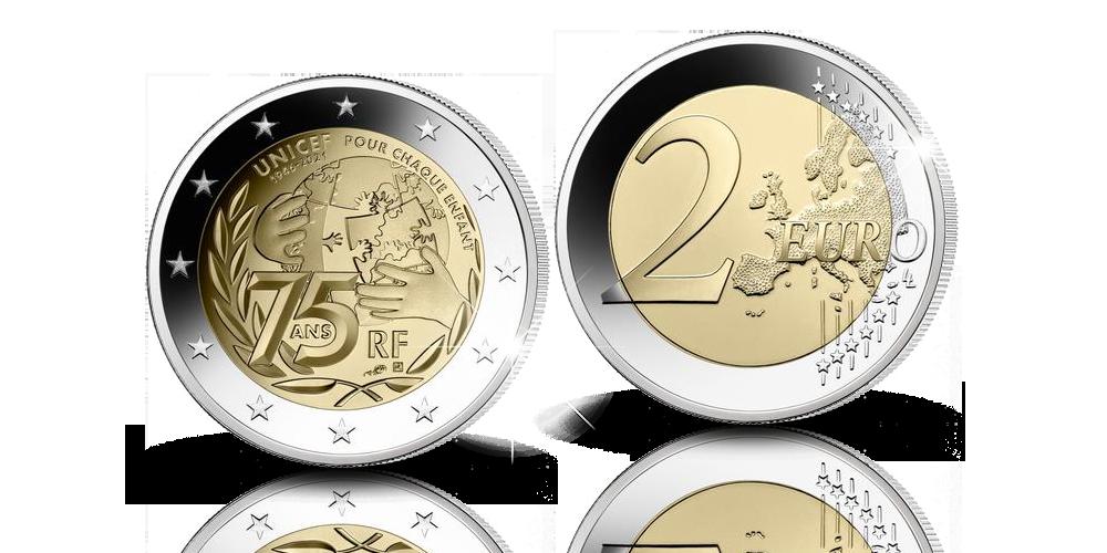 Ranskan uusi 2 euron erikoisraha 2021