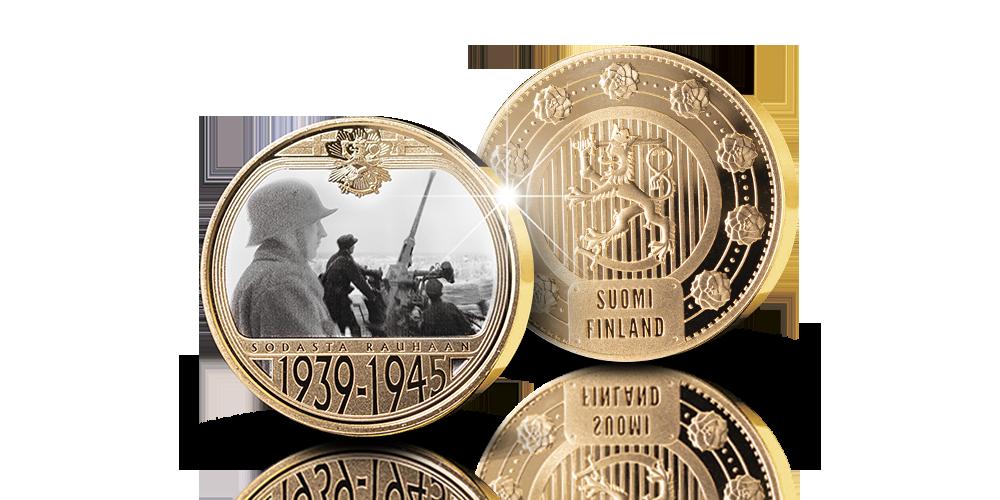 Vuosi 1939 -mitali palaa muistoissa talvisodan syttymisvuoteen ja koko historiaamme vavisuttaneiden raskaiden sotavuosien alkuhetkiin