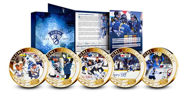Kokoelmassa palataan huippuhetkiin Calgaryssa '88 ja Naganossa '98 ja muistellaan Bratislavan MM-kultaa 2011 sekä Nuorten U20 MM-kultaa 2016.