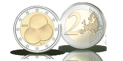 Suomalaiset erikoiseurot -kokoelma: Suomen Hallitusmuoto 1919 -erikoisraha 2 €