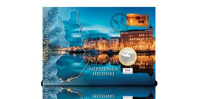 Suomalaiset kansallismaisemat -rahakirjeissä kokoelma: Helsinki