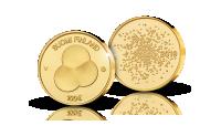 Suomen hallitusmuoto 1919 -kultaraha 100 € 2019