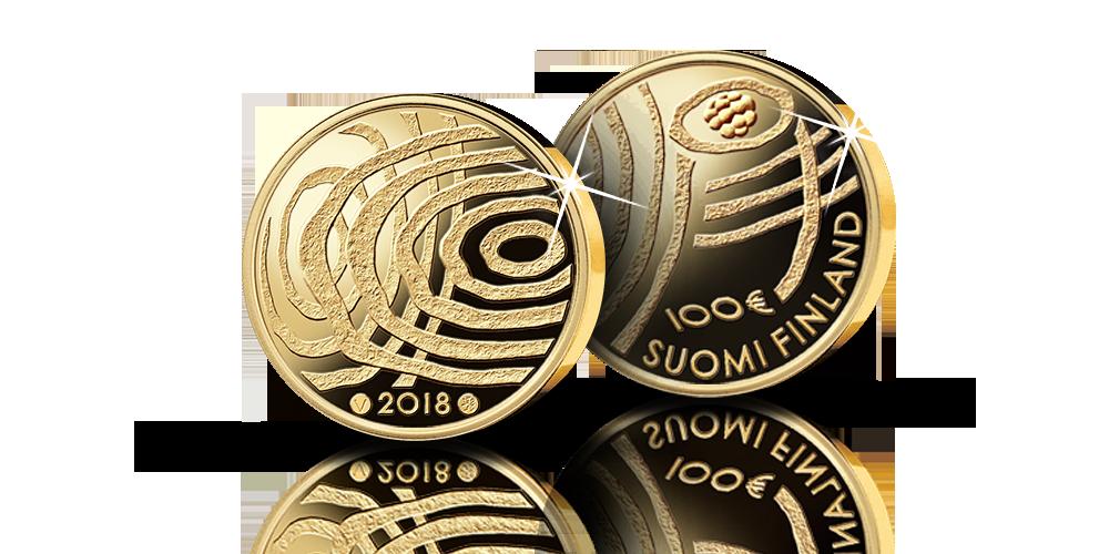 Suomi 100 vuoden kuluttua -kultaraha