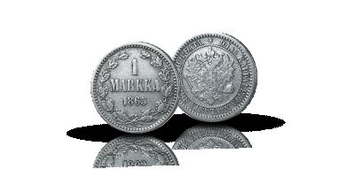 Suomen ensimmäinen hopeamarkka