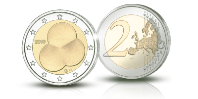 Suomen Hallitusmuoto 1919 -erikoisraha 2 € / The Constitution Act 1919 2 € coin
