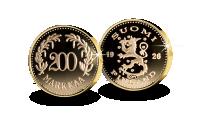 Suomen 200 mk 1926 -muistolyönti