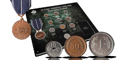 Suomi taisteli 1939-1945: Sota-ajan markat -kokonaisuus