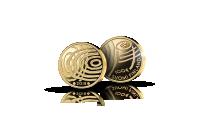 Suomi 100 vuoden kuluttua -kultaraha on aitoa 91,7% kultaa