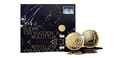 Suomi 100 vuoden kuluttua -kultarahakirje