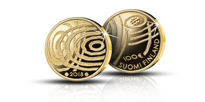 Suomi 100 vuoden kuluttua 100 € kultaraha