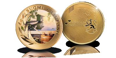 Sydämeltään Suomalainen -mitalikokoelma: Sauna ja juhannus
