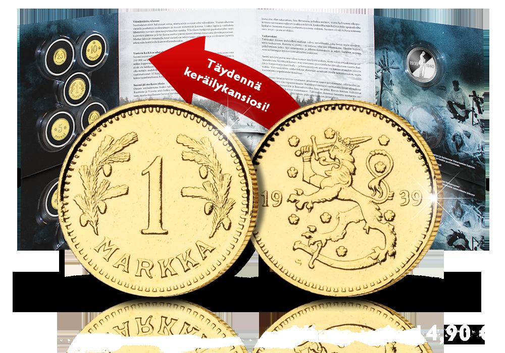 Täydennä kansiosi talvisodan alkuperäisrahoilla!