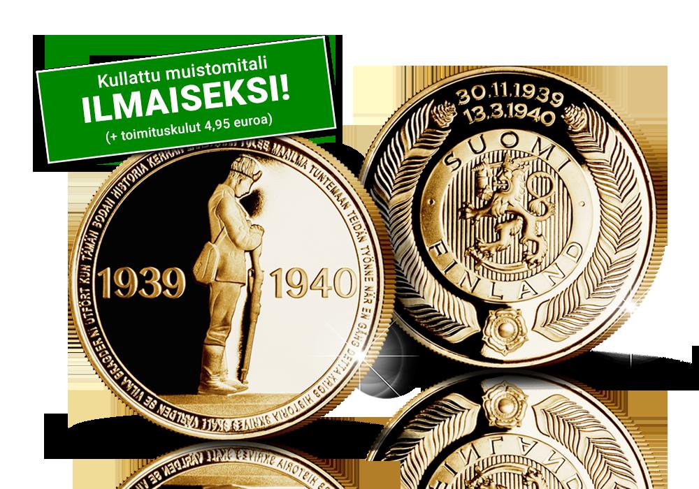 Suomen Monetan ja Sotiemme Veteraanit -keräyksen yhteinen muistomitali