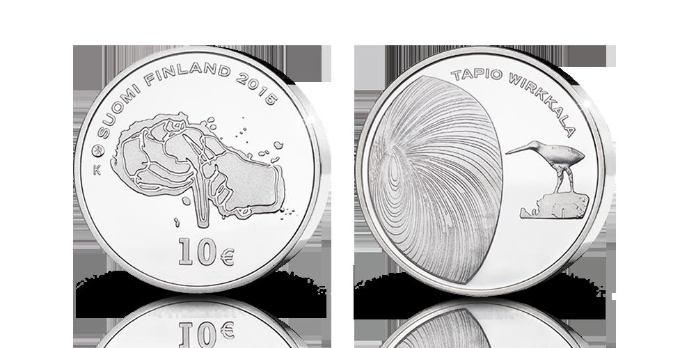 Vain 10 000 tavoiteltua Tapio Wirkkala -hopearahaa
