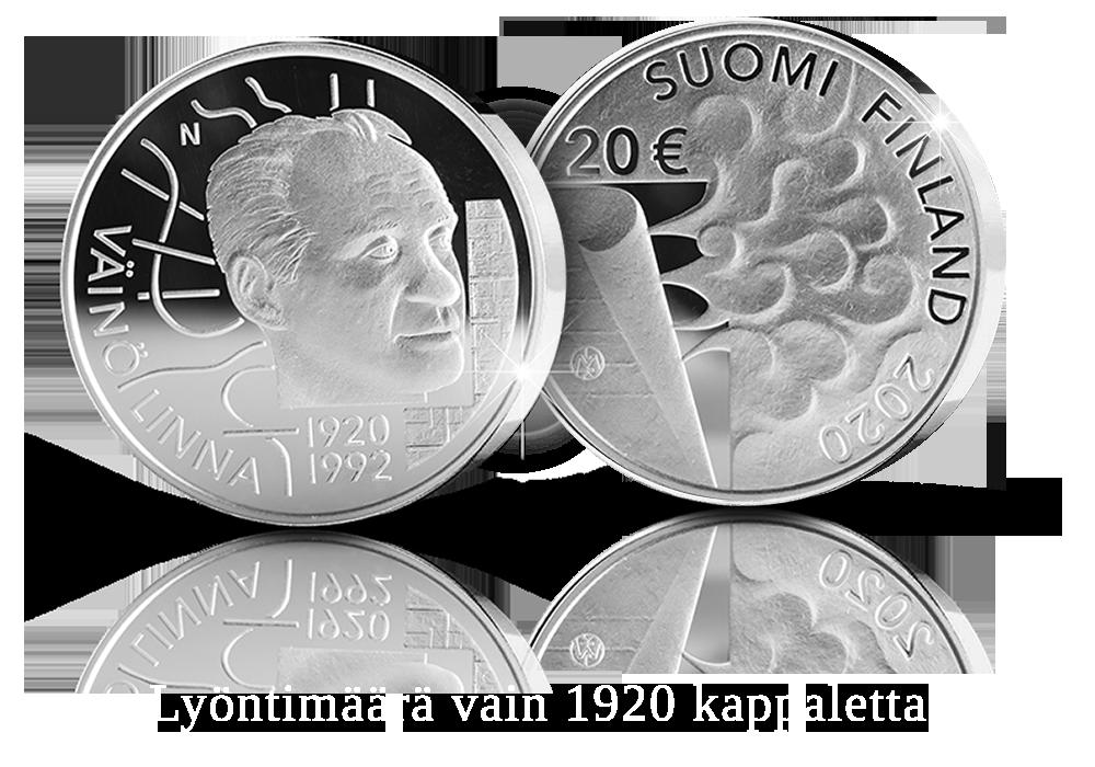 Väinö Linna 100 vuotta -juhlaraha