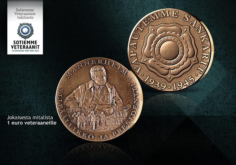 Tyylikäs Mannerheim-mitali