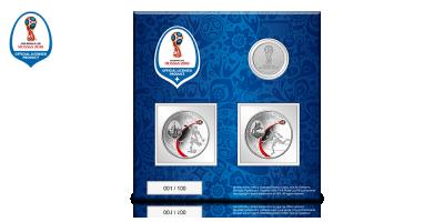 Venäjän viralliset MM-hopearahat