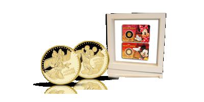 Viralliset Disney-kultarahat: Mikki & Minni Hiiri!