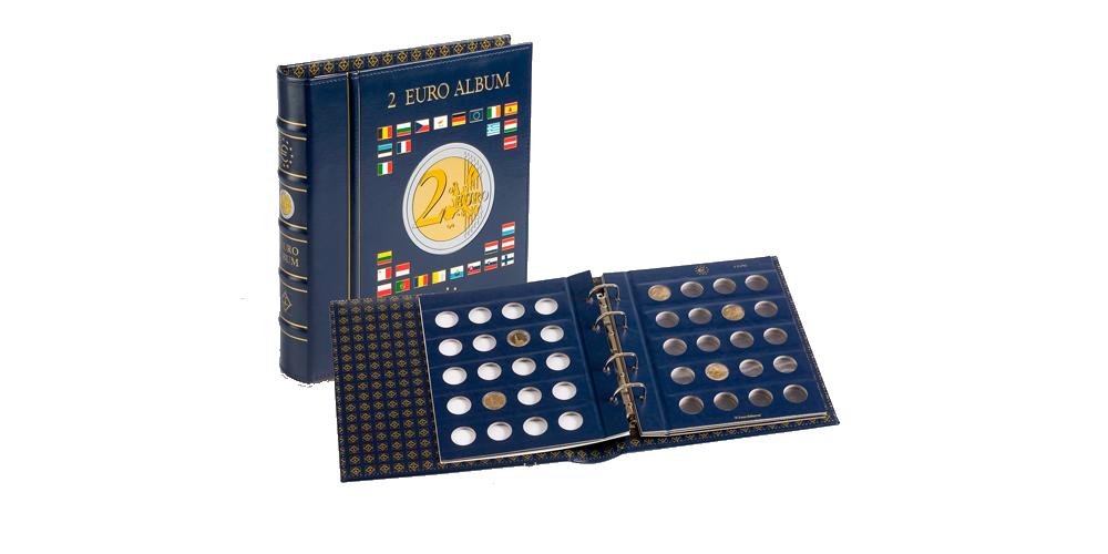 VISTA-rahakansio kahden euron kolikoille