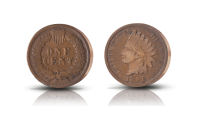 Wild west: indian coin