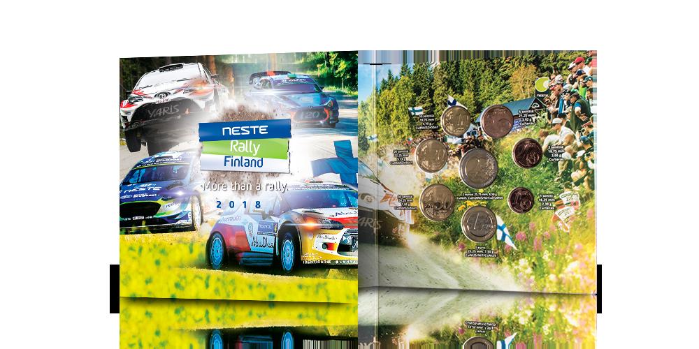 Virallinen WRC Neste Ralli -rahasarja vuodelta 2018